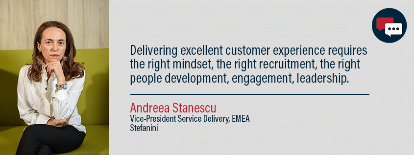Chat with Service intellect: Andreea Stanescu, Vice-President Service Delivery, EMEA, Stefanini