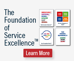 The Foundation of Service Excellence is customer service mindset skill program that allows you to educate employees in your organization about building superior customer service.