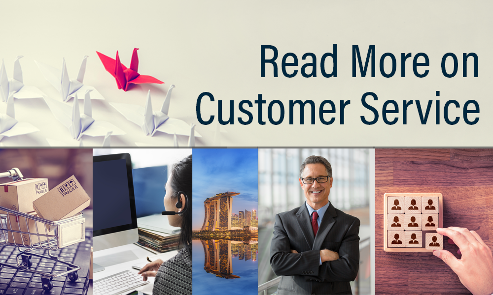 Read more articles on Cusomer Service on our blog section.